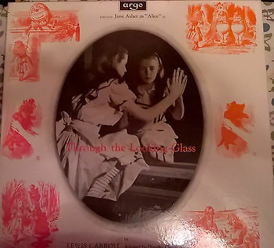 ALICE THROUGH THE LOOKING GLASS LEWIS CARROLL-Jane Asher ARGO STEREO ZTA 503-4