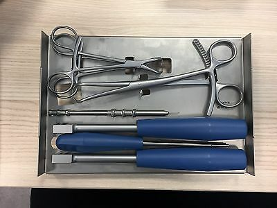 Veterinary Orthopedic Instruments & Implant Fracture Kit 2.7/3.5mm