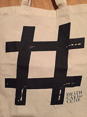 Death Cab For Cutie Codes And Keys Rare Promo Canvas Tote Bag Distressed Nwot