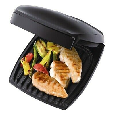 George Foreman RUSSELL HOBBS 18471 Grill Four 4- Portion Large Family Grill NEW*