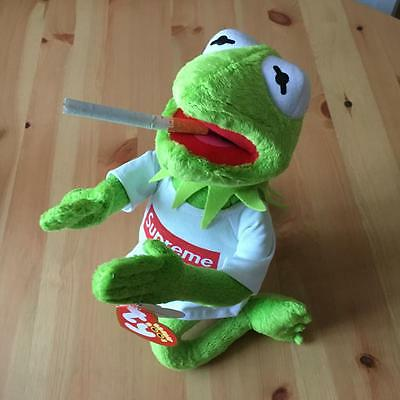 Supreme Kermit The Frog Toy The Muppets Soft Toy