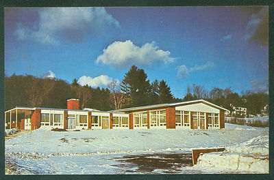 New Hampton BOYS SCHOOL Pemigewasset Valley Memorial Hall NH US Postcard