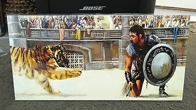 Gladiator Russell Crowe movie art print poster in plastic cover