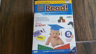YOUR BABY CAN READ Early Language Interactive Development System 5 DVD's