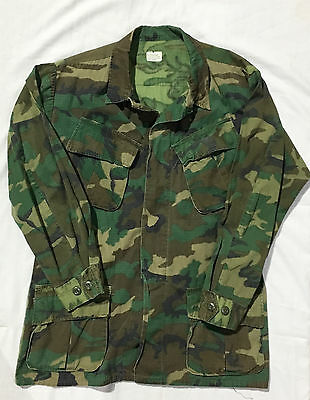 Vietnam Era USMC Jungle Camouflage Fatigue Coat Jacket US Military Army