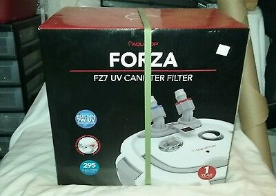 Aquatop Forza FZ7 Canister Filters with UV Sterilization