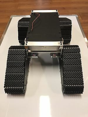 Brand New!! Metal tracked Robotics Platform From Neals Custom Robotics. Read Des
