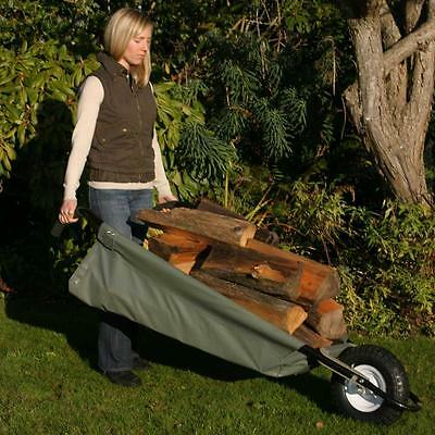 Large Wheeleasy Original Unique Soft-Sided Canvas Barrow 350 lb Capacity