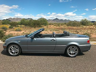 2004 BMW 3-Series 330 Ci 3.0L CONVERTIBLE EXCELLENT 2004 3.0L BMW 330 Ci Convertible Premium + Sport Packages 3 Owner Car