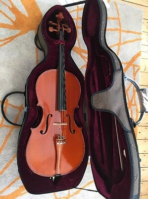 Cello 1/2 Size (Gear4Music Deluxe fitted with Quality Larsen Strings