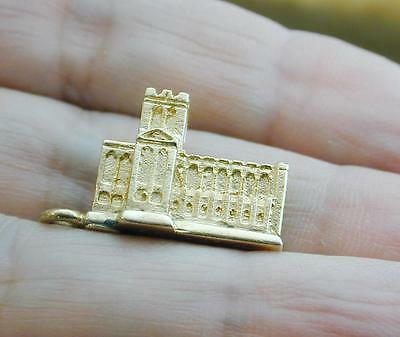 RARE 14k West Point Military Academy Figural Chapel Charm
