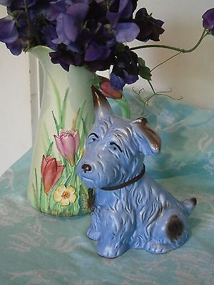 Sylvac Monty the dog Blue and Black Terrier No 1118