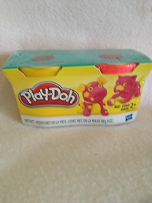 Brand new Play Doh 2 packs 2 different colours