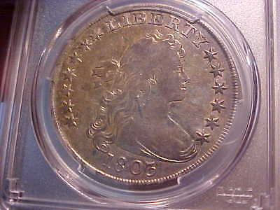 1803 Draped Bust Dollar (with Nice Luster) PCGS VF25