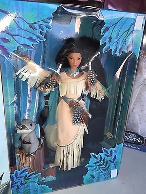 New DISNEY DOLL Pocahontas Feathers in the Wind Barbie Doll NRFB