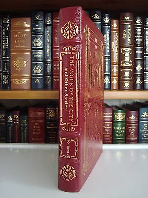 VOICE OF THE CITY by O. Henry Easton Press Leather Bound