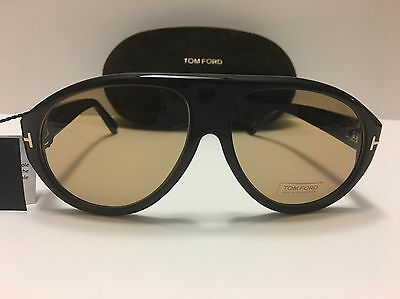 140ca58ac1f New Authentic Tom Ford Tom N.8 63E Private Collection Black Horn Sunglasses