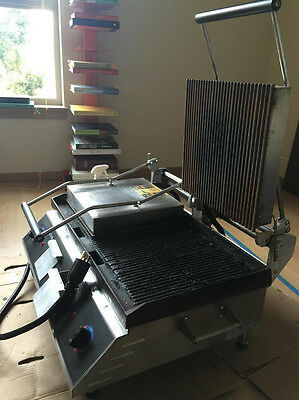 Star CG28IB Double Electric Panini Grill - Two Sided Commercial Grill Press