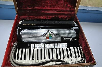Vintage MARCA D'ORO Accordion 120 Bass Made IN Italy