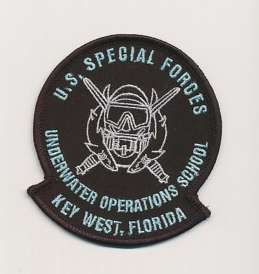 "US Special Forces - Green Beret - ODA - Underwater Operations School ""SFUWO"""