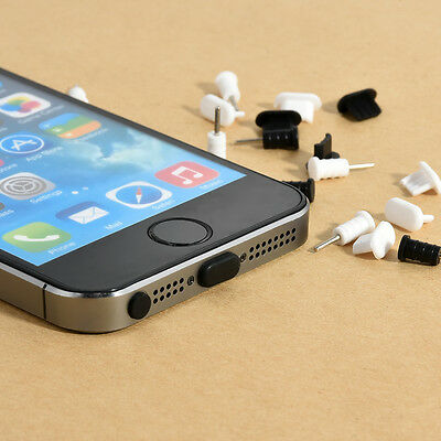 Hot Cap Earphone Plug Applied 10Set Anti Dust Stopper For iPhone 5S 5C 6S Plus