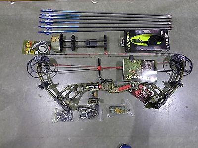 2017 PSE Drive R COMPOUND BOW KIT - HUNTING or TARGET 45-60# CAMO RH
