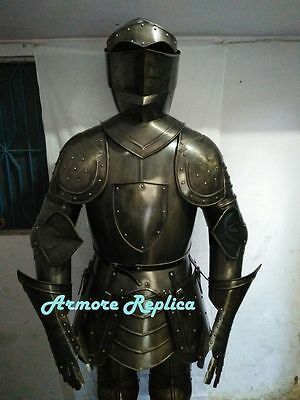 Buy Combat Medieval Suit of Armor 15th Century Combat Full Body Armour Suit AT25