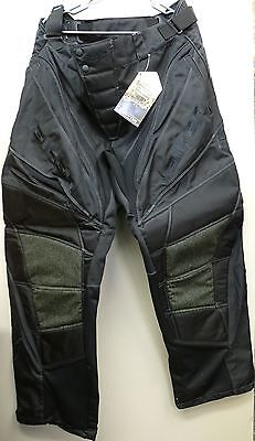 Valken Paintball Pants Redemption Stealth Black Padded 2XL XXL NEW