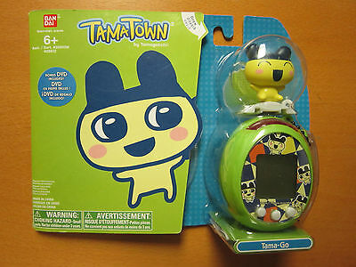 Tama-Go (Mametchi). TamaTown by Tamagotchi - Yellow & Green - Sealed