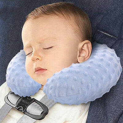 Baby Inflatable Travel Pillow U Shape Headrest Neck Support Protection Washable