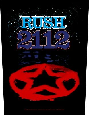 RUSH 2112 Back Patch XLG free worldwide shipping