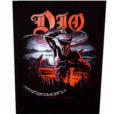 DIO holy diver Back Patch XLG free worldwide shipping
