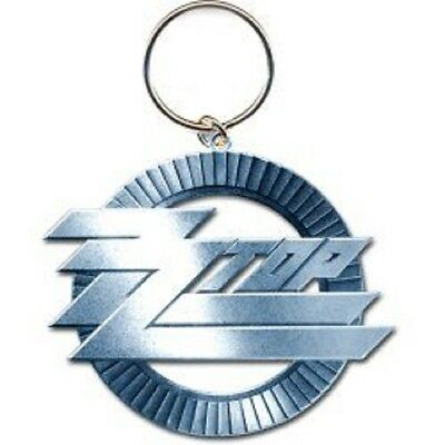 zz top Keychain - cast metal