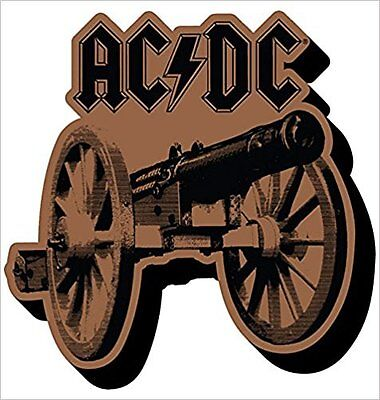 AC/DC for those about to rock CHUNKY fridge  magnet