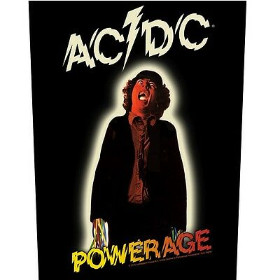 AC/DC powerage Back Patch XLG free worldwide shipping