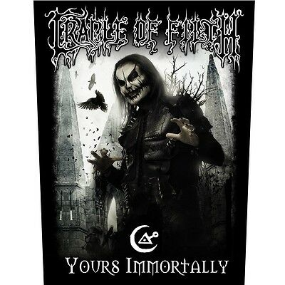 Cradle of filth yours immortally  Back Patch XLG free worldwide shipping