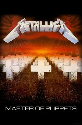 Metallica Master of Puppets  'DELUXE' Textile Poster Flag