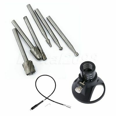 8pcs Grinder Rotary Tool Accessories & Drill Locator Set Grinding Polishing Kit
