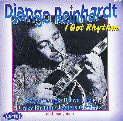 "DJANGO REINHARDT ""I Got Rhythm"" 78rpm time CD 12 Tracks & Comet 1997"