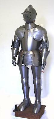 Solid Medieval Wearable Knight Crusador, Full Suit Of Armor Collectible Costume