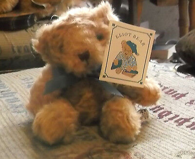 Russ Berrie! Schubert Teddy Bear Soft Toy! Eliot Bear! New With Tags! Charity!
