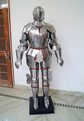 Collectible Medieval Knight 15th Century Combat Full Body Halloween Armour AT31