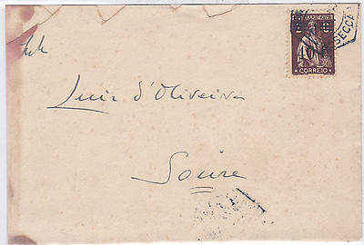 Portugal Cover to Soure Surcharged 2C ceres.