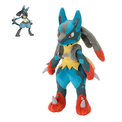 "11""Pokemon Plush Lucario Doll Soft Toy Christmas Kids Gift Stuffed Animal Doll"
