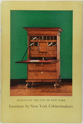 Antique New York Furniture @ Museum of the City of New York 1956 Catalog