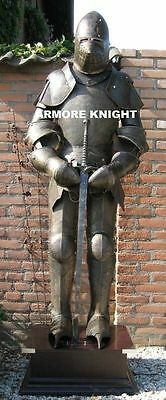 Collectible Medieval-Knight-Suit-of-Armor-15th-Century-Combat-Full-Body-Armour