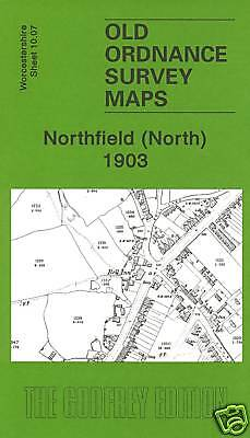 Old Ordnance Survey Map Northfield North 1903