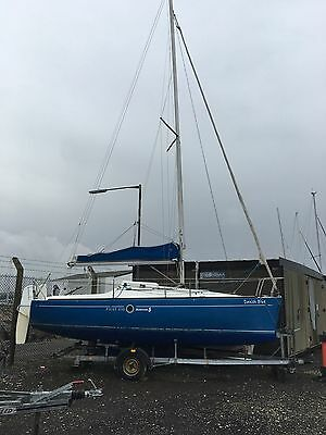 BENETEAU FIRST 210 LIFTING KEEL SAILING BOAT WITH TRAILER 21ft CRUISER YACHT