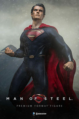 Man of Steel Premium Format von Sideshow Collectibles Superman AUSSTELLER