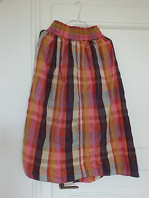 Ace & Jig * size xs * Ra Ra Midi Skirt in Spectrum